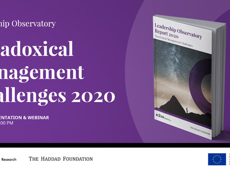 Webinar Series - Paradoxical Management Challenges (January 22, 2021)