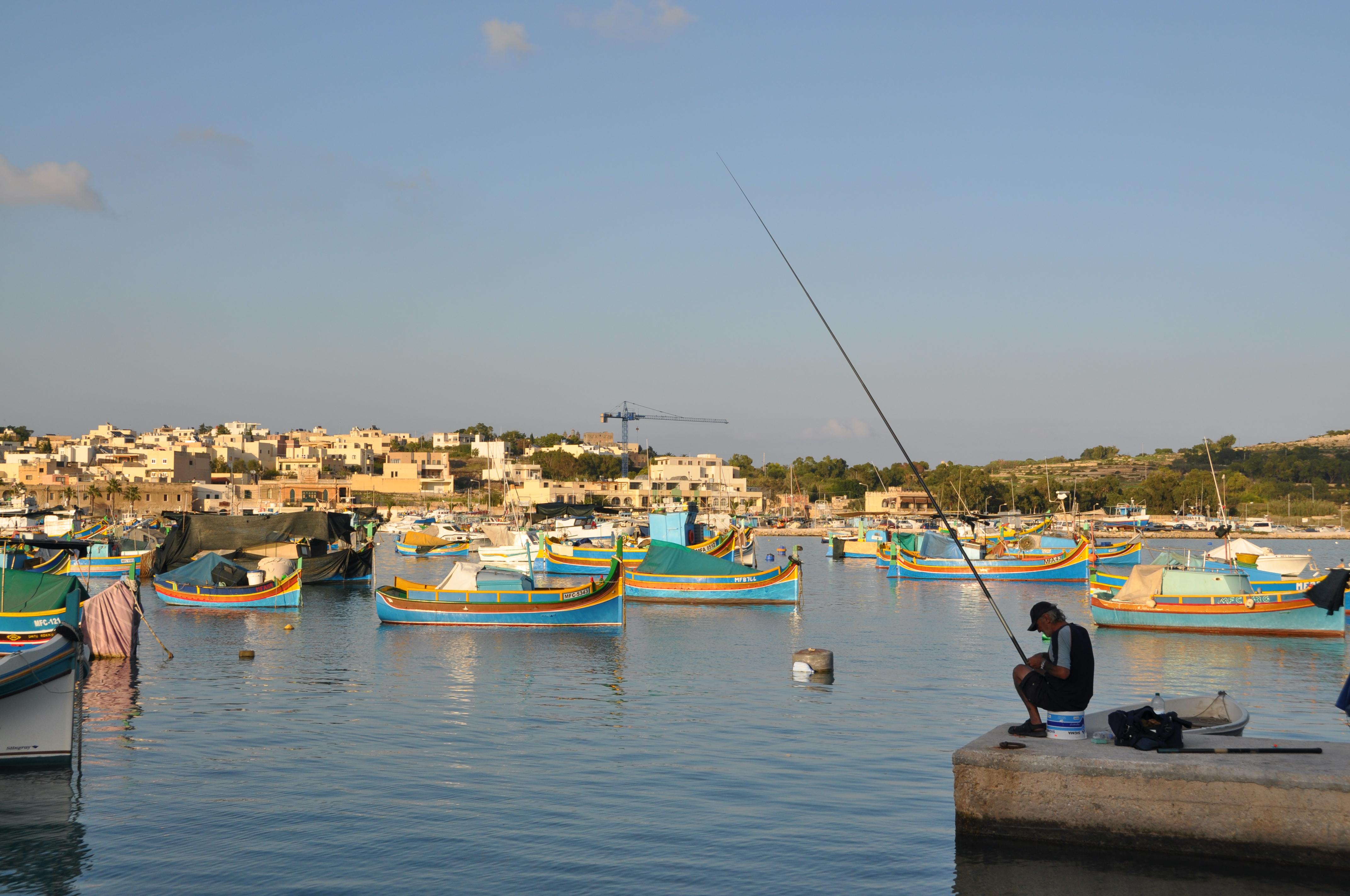 Malta, Marsaxlokk - Sept 21 2012 - 03