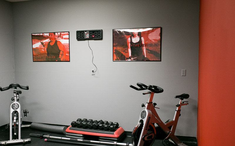 Our Personal Training Space