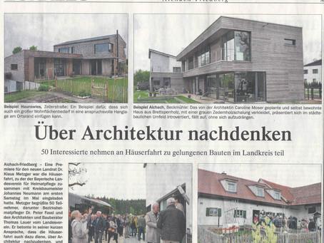 ÜBER ARCHITEKTUR NACHDENKEN - HÄUSERFAHRT 2014
