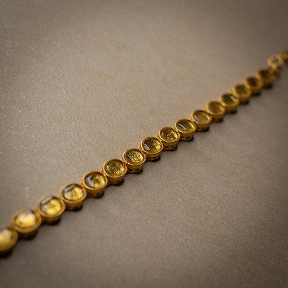 Lure oval bracelet
