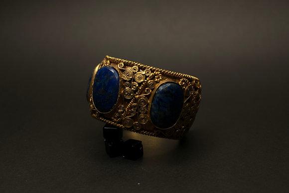 Lapez lazuli cuff