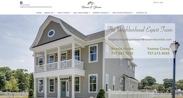 Real Estate Website Design by Think BIG