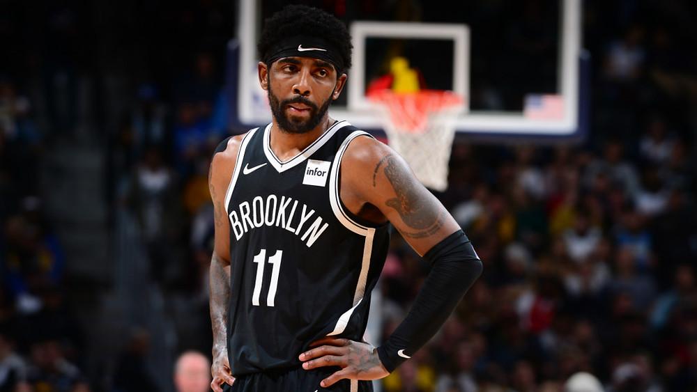 Kyrie Irving llegó esta temporada a los Nets de Brooklyn // Créditos: The Shadow League