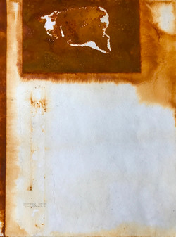 Rusted paper