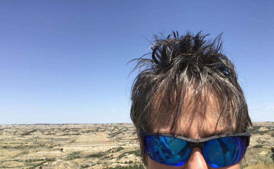 Bad hair in Badlands, ND