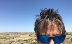 Bad hair in Badlands, ND