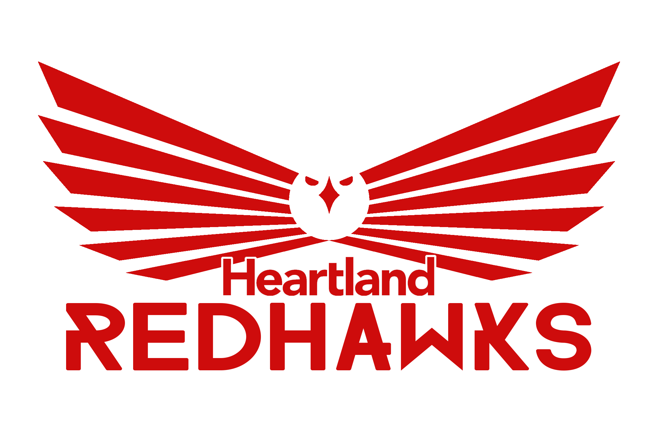 Heartland RedHawks Logo