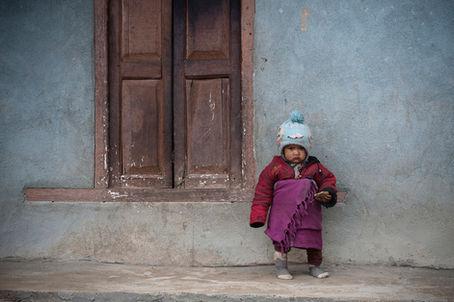 Colección Infancia y Adolescencia del Portfolio del fotógrafo humanitario Joseba Etxebarria. La vuelta al mundo en bicicleta.