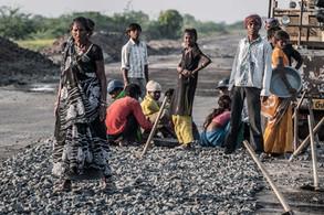 Kala y su familia | India