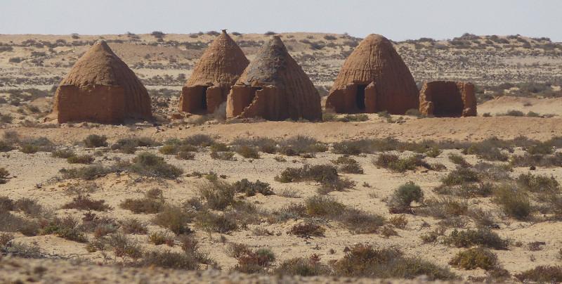 En ruta por el desierto de Sahara