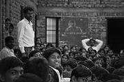 Serie Blanco y Negro del portfolio del fotógrafo humanitario Joseba Etxebarria, activista por los Derechos Humanos.