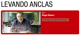 Entrevista en el programa de Roge Blasco Levando anclas, de Radio Euskadi, al fotógrafo humanitario Joseba Etxebarria sobre su vuelta al mundo en bicicleta.
