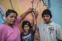 En 2017 Joseba Etxebarria visita México durante su estancia en Camboya y antes de reiniciar la vuelta al mundo por los Derechos Humanos.