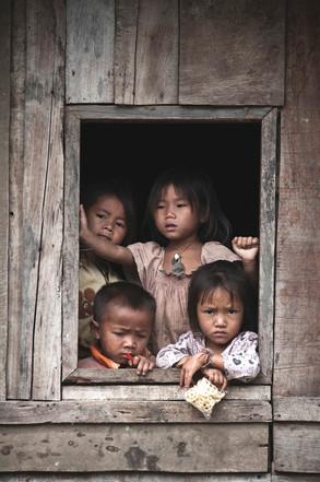 Gladi, Napua y amigos   Laos