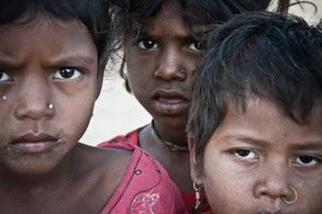 Esha, Bharati y Aruna | India