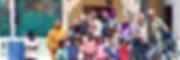 El fotógrafo humanitario internacional Joseba Etxebarria con los niños del orfanato NAD de Mauritania. El fotógrafo realizó una parada de 23 días en el orfanato, durante su vuelta al mundo en bicicleta, con el fin de poner en marcha una campaña solidaria con la que poder operar a la pequeña Meyja.