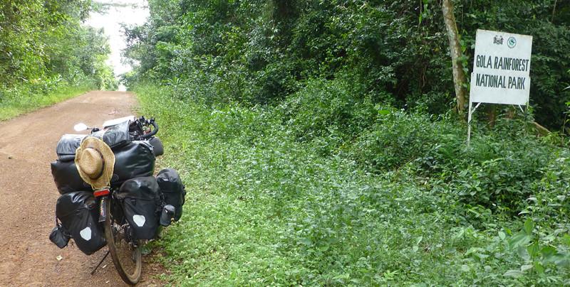 Parque Natural de Gola en Sierra Leona