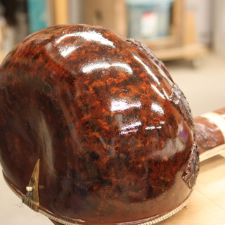 sitar after new more vibrant color and finish