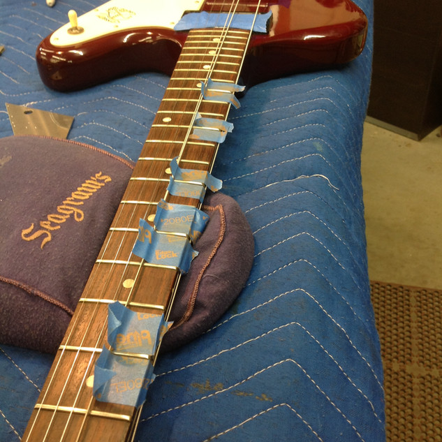 """""""surgical""""fret milling"""