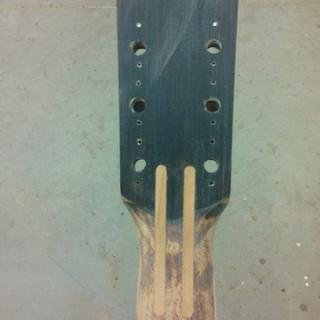 reinforcement splines installed
