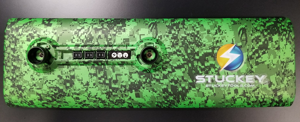 Stuckey 18 inch PDR LED Cordless Light Green Digital Camo