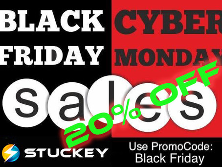 Black Friday Sale 20% off