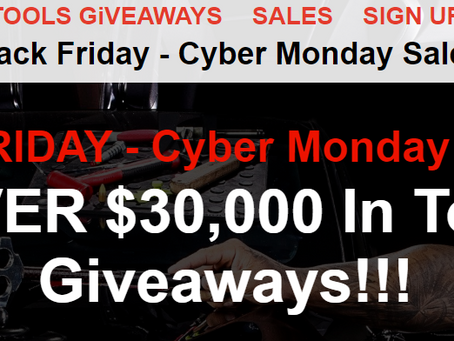 Black Friday PDR Tool Give Away!