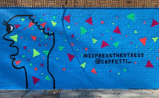 #ExpressTheStress Mural