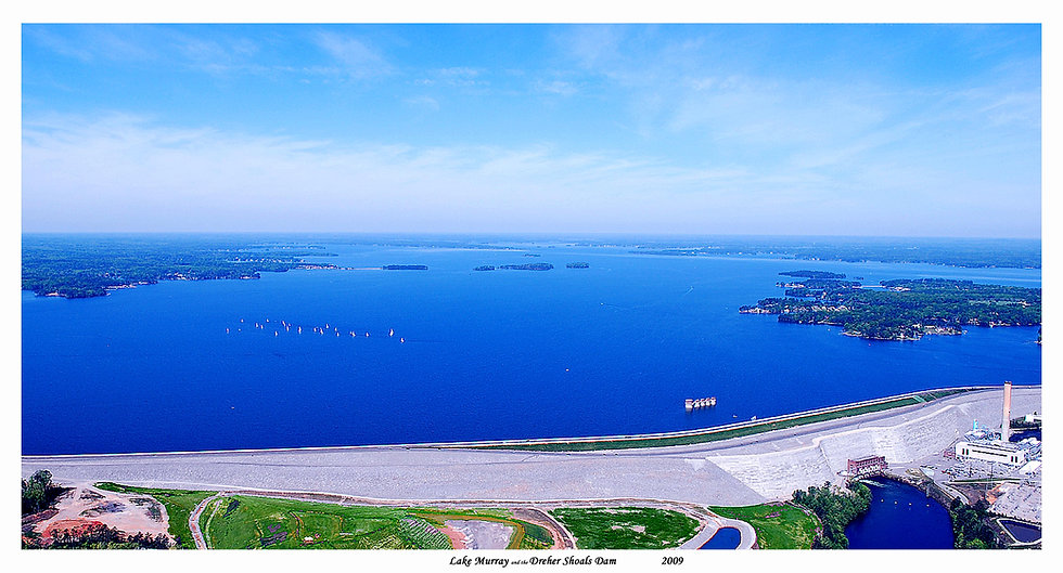 Lake Murray and the Dreher Shoals Dam 09