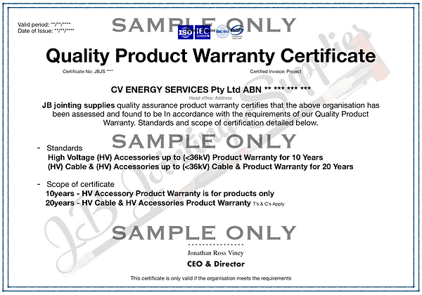 MV/HV Warranty