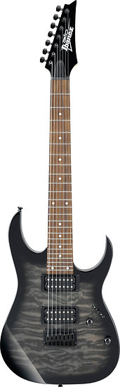 IBANEZ GRG7221QA TRANSPARENT BLACK SUNBURST