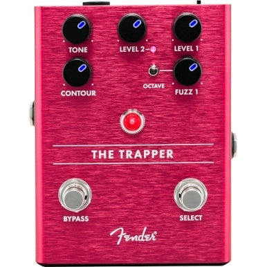 Fender The Trapper Dual Fuzz Guitar Pedal