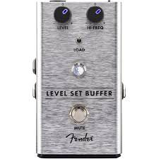 Fender Level Set Buffer Guitar Pedal