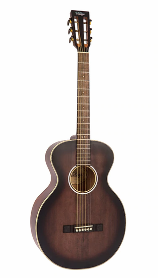VINTAGE HISTORIC SERIES ACOUSTIC OM - ANTIQUE FINISH