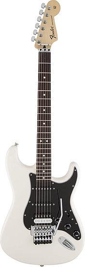 Fender Std Strat HSS White w/Floyd