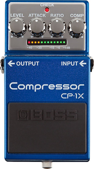 BOSS CP-1X COMPRESSOR