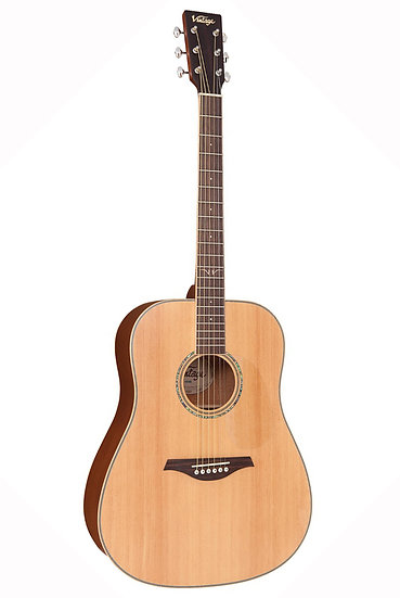 VINTAGE ACOUSTIC GUITAR - SATIN NATURAL