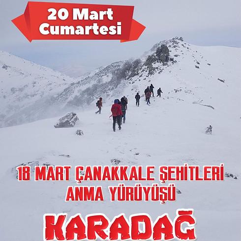 18 Mart Çanakkale Zaferi ve Şehitleri Anma Günü Yürüyüşü