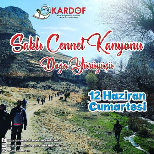 369 nci Faaliyet Gödet Saklı Cennet Kanyonu