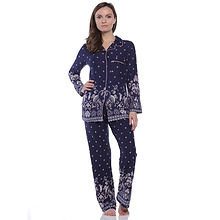 Body-Touch-Women's-Long-Sleeve-Border-Pr