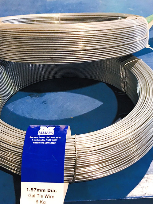Galvanised Tire Wire 3kg Coil