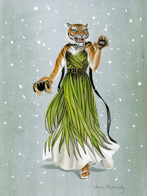 Elie Saabertooth Tiger