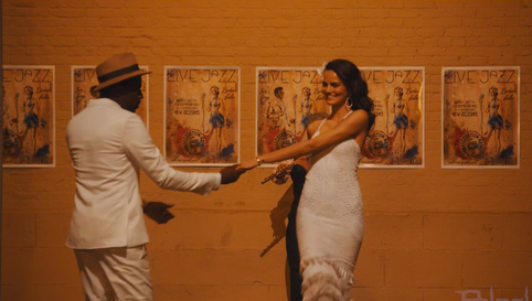 Samba e Amor music video