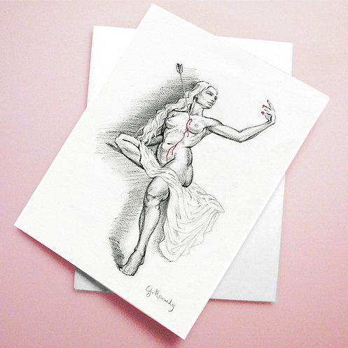 'Venus' Valentine card