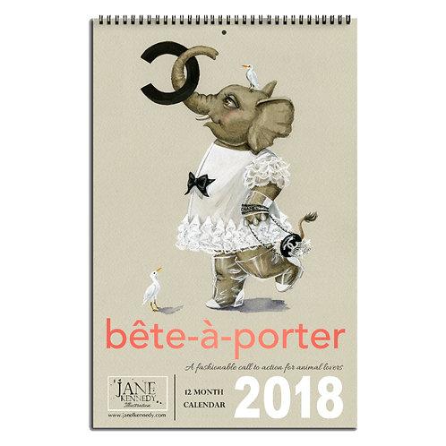 Bête-à-Porter Calendar