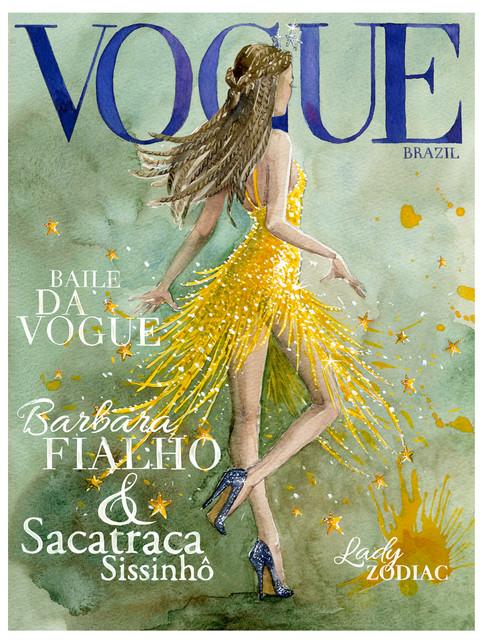 VOGUE Brazil poster