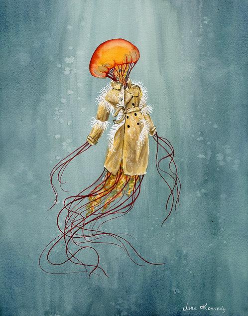 Maison Margiellyfish giclée print