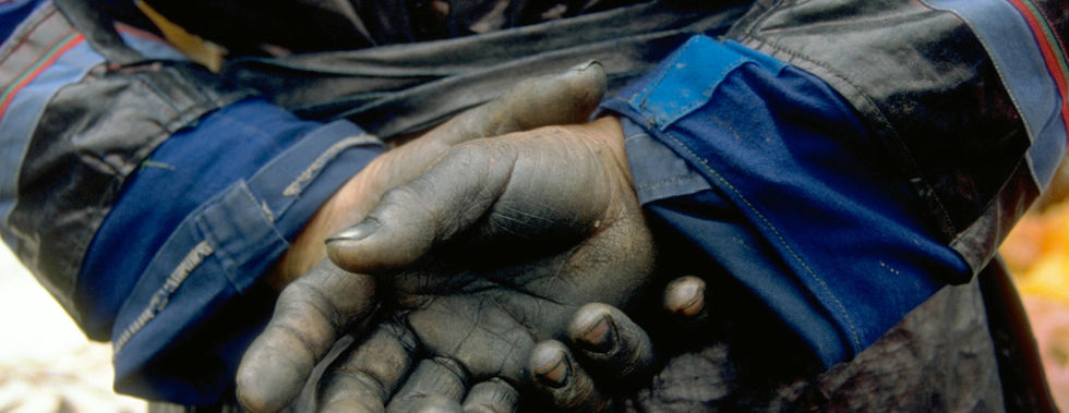 Indigo-Hände