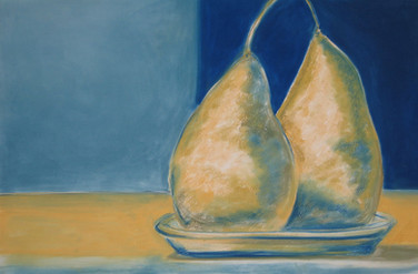 Pears in a Dish 2